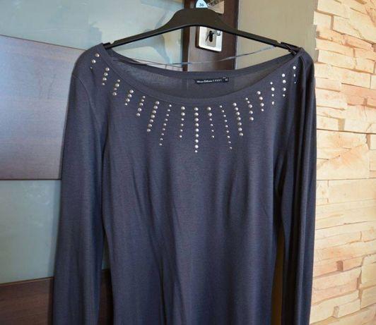 H&M bluzka spodnie ubrania ciążowe zestaw r. M