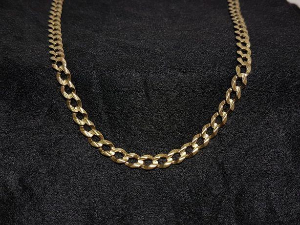Złoty łańcuch Pancerka próba 333 26,45G 60cm