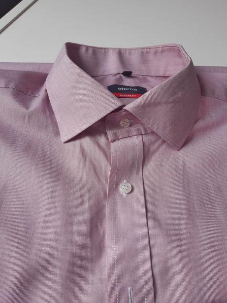Oryginalna Oryginalna koszula męska Eterna Modern Fit krótki rękaw 44