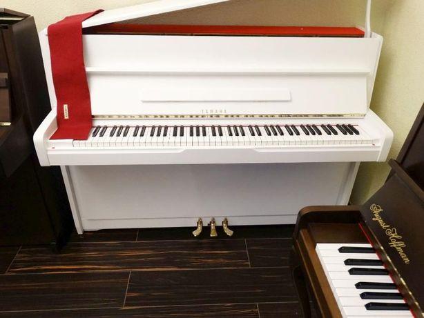 YAMAHA biale pianino stan bdb all inclusive
