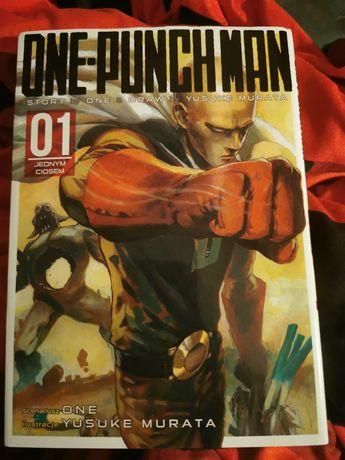 One punch man tom 1 anime manga