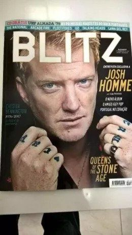Blitz - Queens of the Stone Age (Portes incluídos)