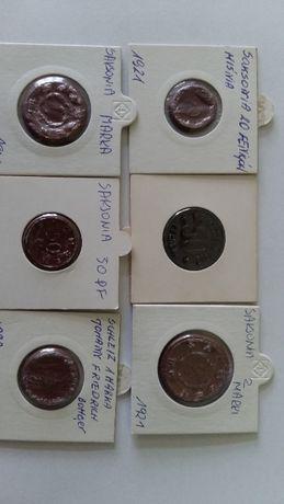 monety zastępcze glinka