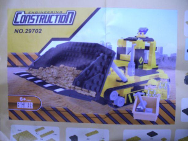 klocki konstruktorskie Construction no 29702 zabawa zabawki prezent