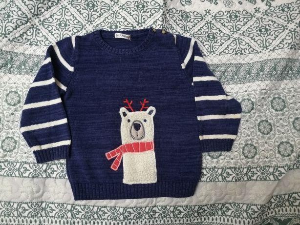 Новогодний свитер 18-24