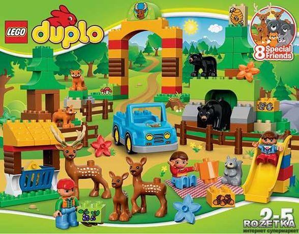 Конструктор LEGO DUPLO Лесной заповедник (10584)