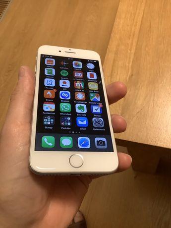 Iphone 7 128 GB ideał silver + 1x3mk glass +etui