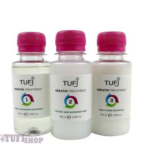 Домашний набор Кератин для волос Tufi profi