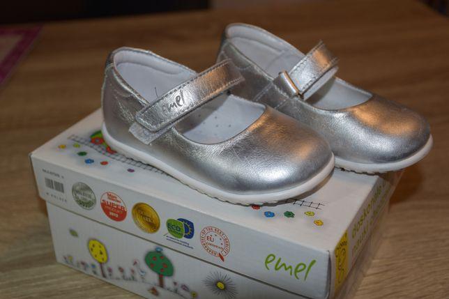 Emel balerinki srebrne rozmiar 21