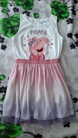 Платье Пеппп Peppa pig H&m HM 122см