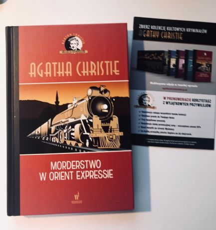 "Książka ""Morderstwo w Orient Expressie"""