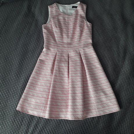 Sukienka 38 M rozkloszowana jedyna niespotykany wzór pretty girl