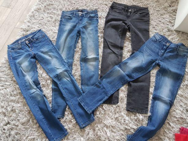 Spodnie różne 36 S za 15 zł sztuka