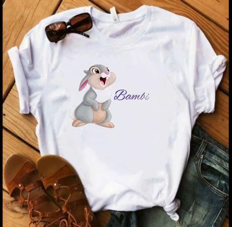 Koszulka t-shirt damska Bambi S-XXL Vogue vintage