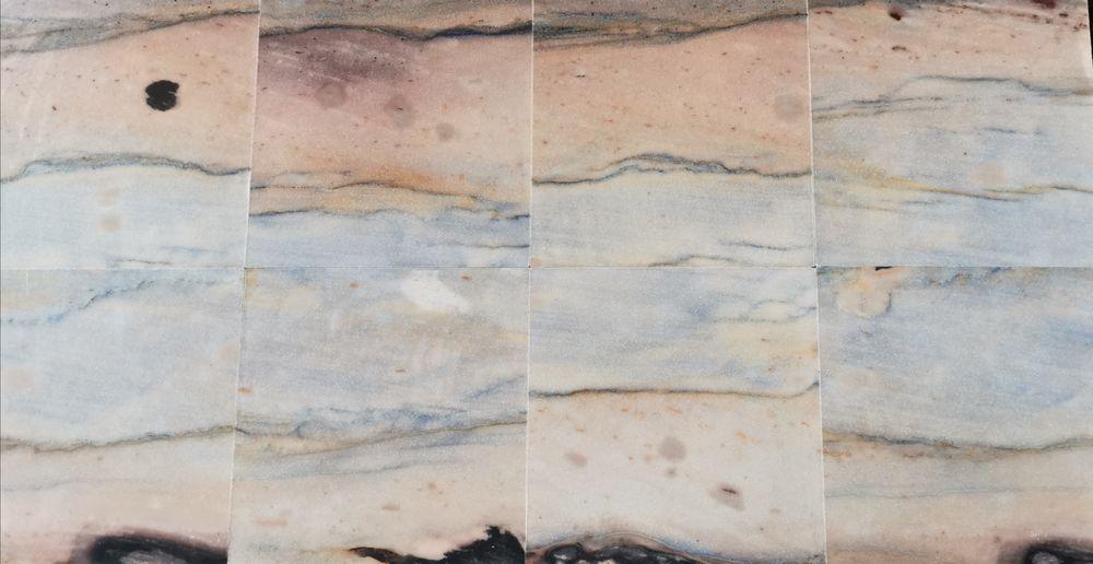 Płytki Kwarcowe AZUL MACAUBAS Kamień naturalny Poskwitów - image 1