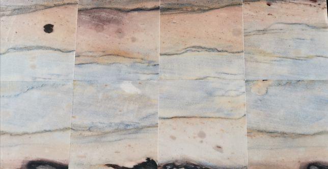 Płytki Kwarc owe AZUL MACAUBAS  Kamień naturalny