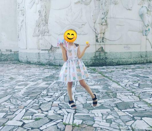 Платье на 5 лет, рост 110 см