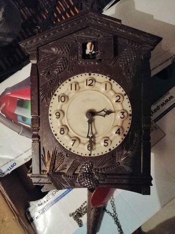 Zegar kukułka PRL oryginalny