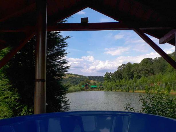 Domek całoroczny Bieszczady, sauna, jacuzzi, grill 23-31.08 wolne