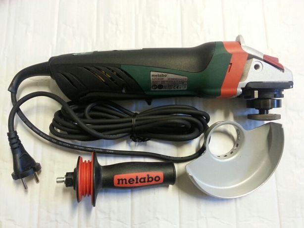 NOWA Szlifierka kątowa z elektroniką METABO 14-125, 1400 W, Germany