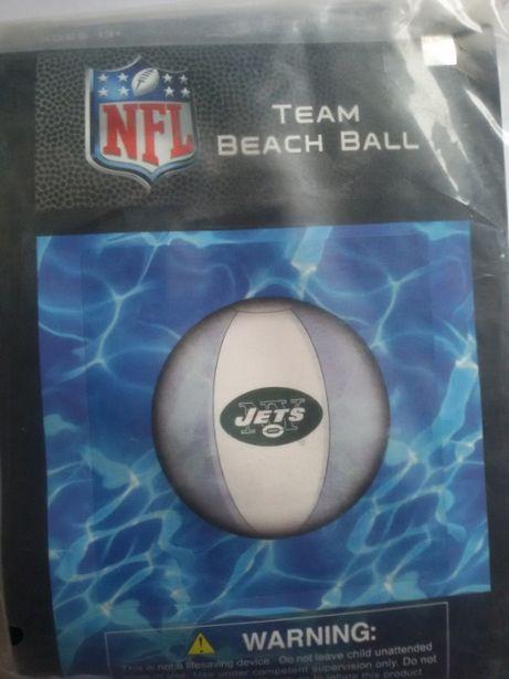 Piłka plażowa dmuchana NY Jets NFL