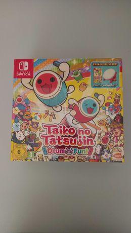 Jogo Nintendo Switch Taiko No Tatsujin: Bundle Com Tambor (Novo)