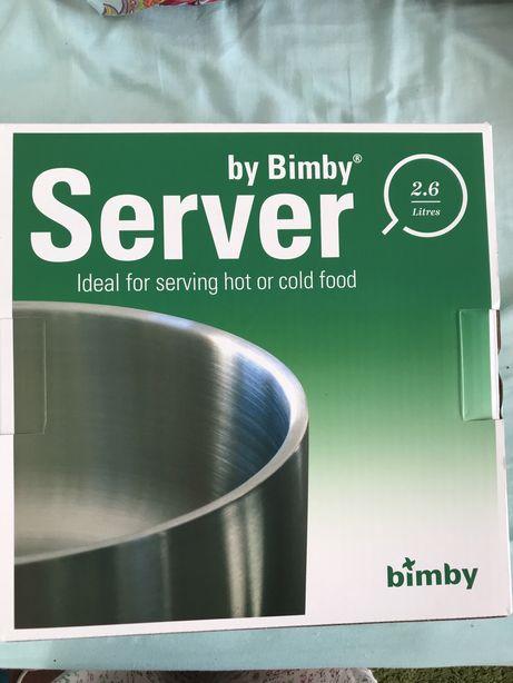 Bimby server térmica - quentes e frios