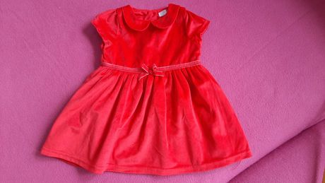 Sukienka czerwona na święta