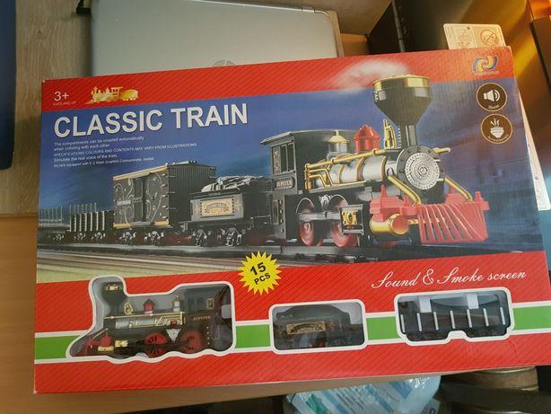 Железная дорога пластиковая