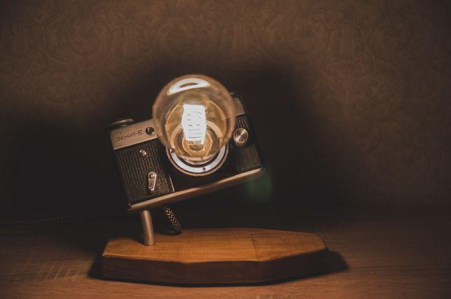Настольный лофт светильник, фотоаппарат, настольная лампа LOFT