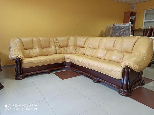 Виробник, кутовий диван Сан Ремо 3 на 2м Кожаный диван, шкіряний див