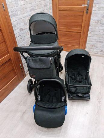 Wózek ATTESO MiluKids 3w1