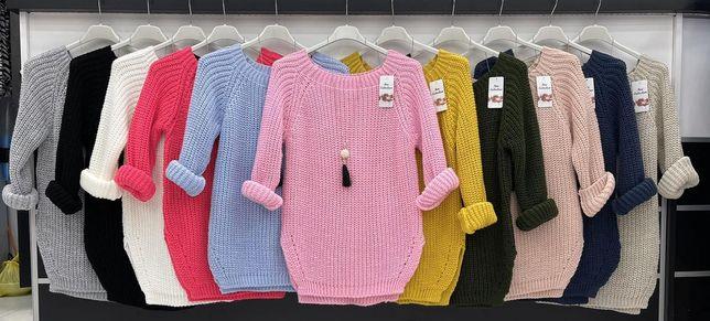 Sweterki z łańcuszkiem różne kolory