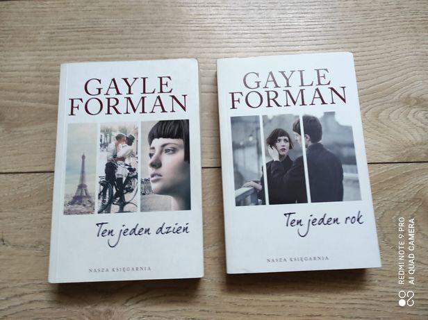 Gayle Forman Ten jeden dzień, Ten jeden rok