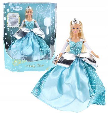 Lalka Zimowa Księżniczka Anlily Królowa Lodu Elsa -Superzabaweczki-