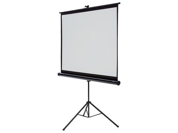 Nowy Ekran projekcyjny na trójnogu 133*100