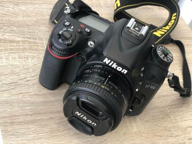 Nikon D7100+3 об'єктива+рюкзак