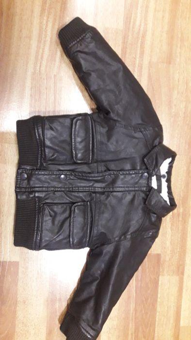 Кожаная куртка Zara (теплая) Кропивницкий - изображение 1