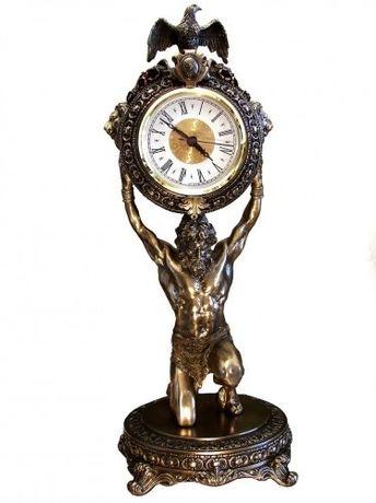 Zegar rzeźba atlas figura Veronese