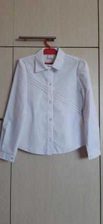 Biała bluzka dziewczęca
