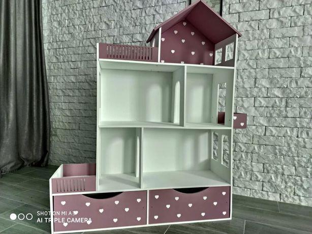 Мега крутой кукольный домик для Барби,  ЛОЛ, принцесс Диснея!!!