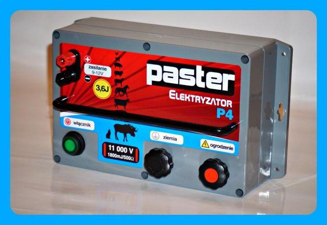 Nowość - elektryzator, pastuch elektryczny PASTER P4 darmowa przesyłka