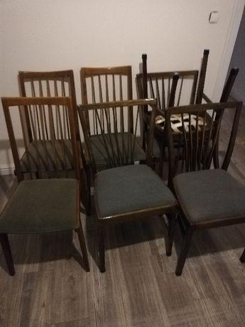 Krzesła vintage prl