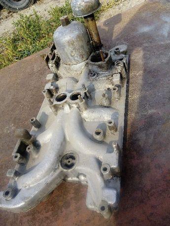Коллекектор впускной ГАЗ 53 (паук) + б/у головка блока ГАЗ 53-2000гр