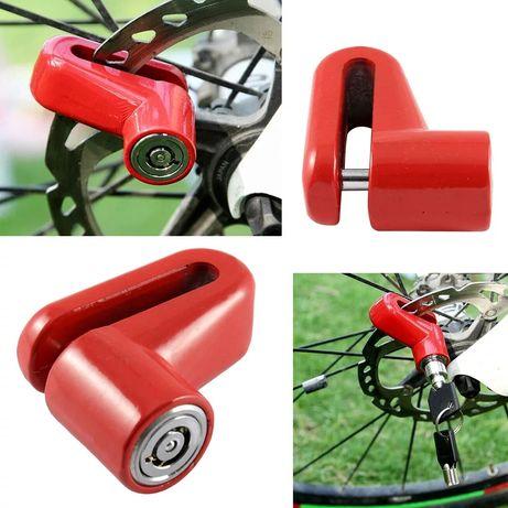 Cadeado de disco Mota, Bicicleta, scooter