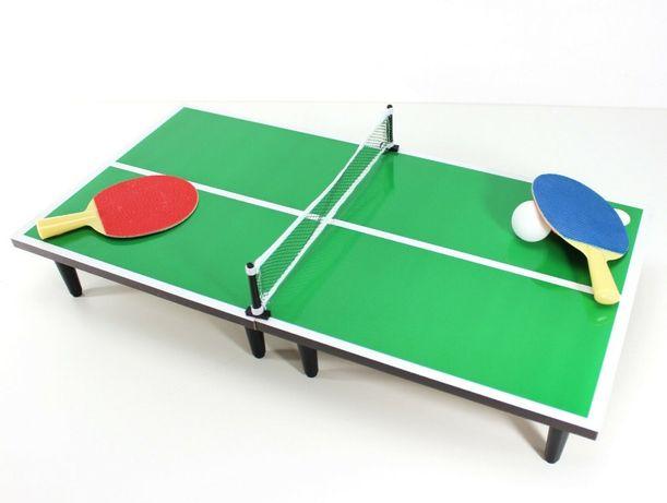 Mini zestaw do gry w tenisa stołowego z rakietkami Demo