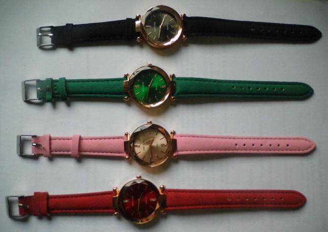 Zegarek damski - 2 kolory do wyboru czarny/czerwony w pudełku