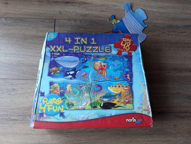 Puzzle Noris 4 Fun - podwodny świat 48 elementów