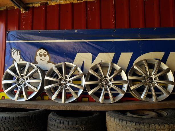 Felgi Aluminiowe Volkswagen Sharan R17 5x112 ET38 -6.5J+czujniki TMS