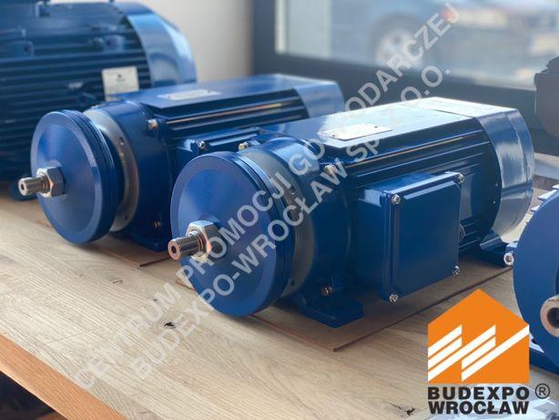 Silnik trójfazowy ''jamnik'' 5.5 kW 2820 - lewy